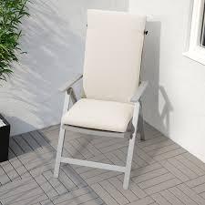 Seat/back Cushion, Outdoor FRÖSÖN/DUVHOLMEN Beige