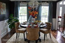 amusing fall dining room table decorating ideas also home