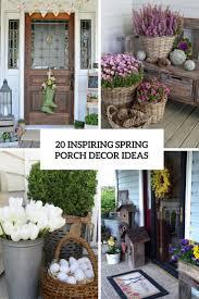 20 Inspiring Spring Porch Decor Ideas