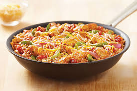 cuisine tex mex one pan tex mex chicken rice kraft recipes