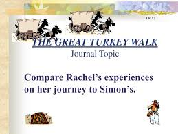 THE GREAT TURKEY WALKJournal Topic