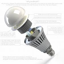 ecobright 20w 150w 2000lm led light bulb warm white non dimmable