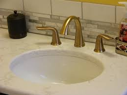 delta lahara faucet in chagne bronze finish mhi interiors