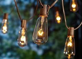 outdoor string lights large bulbs light bulb hommum