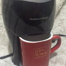 Personal Portable Coffee Maker W FREE Mug Kitchen Appliances On