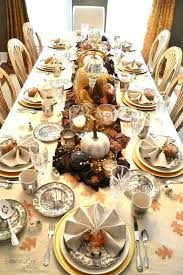 Cozy Thanksgiving Table Decorations Images