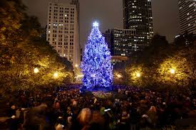 Rockefeller Christmas Tree Lighting 2018 by City Of Chicago 104th Annual Christmas Tree