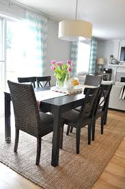 Dining Room Rugs Ikea With Suburbs Mama Area Third Times The Charm Dream Home