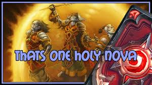 Alarm O Bot Deck Lich King by Hearthstone Thats One Holy Nova Big Priest Youtube