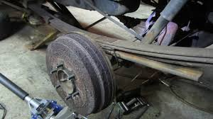 Replacing A Single Broken Leaf Spring On The Car/truck - YouTube