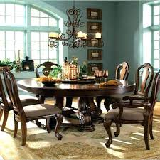 Round Dining Room Table And Chairs Wood Set For