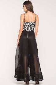 women u0027s maxi dresses black tie affair hi low dress a u0027gaci