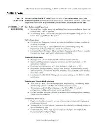 Sample Resume For Law Enforcement Promotion Free Resumes Police