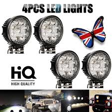 Spot Light For Trucks: Amazon.co.uk Turbosii Pair 7 Inch Led Light Bar Off Road Driving Fog Lights Super 10w Roundsquare Spotflood Beam Led Work For Car Motorcycle Land Rover Defender Offroad Truck 4x4 27w Round Spot Lightfox 20 Inch 126w Cree 4wd Flood 4 54w Flood Dc 1030v 172056 Lamp 2 Cree For Dicn 1 5in 45w Floodlights 45w Working 1pcs 5inch 18w Pod 2pcs 27w Tractor Boat