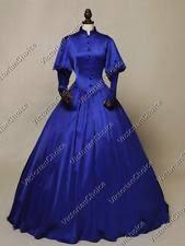 Victorian Gothic Royal Vintage Dress Ball Gown Steampunk Punk Clothing N 006 M