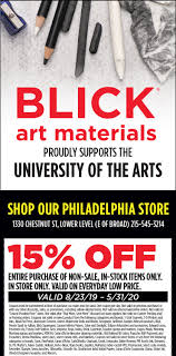 UArts | BLICK Art Materials How To Buy Polymer Clay The Blue Bottle Tree Solidsurfacecom Promo Codes Wolf Coupons Coupon February 122 Crafty Sales Hedgehog Hollow Dick Blick Locations Online Shop Promotion Dblick Promo Codes Restaurants In City Center Newport News Au6r2ot7 Teacher Appreciation Week 2019 Heres A List Of Deals And Discounts Dont Miss These Top Offers For Educators Lane Bryant Bras On Sale Arts 1316 Drawing I Fall 2017valdez 1