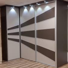 portes de placards sur mesure assez design réalisées par