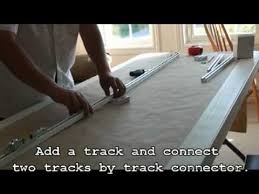 how to install metechs motorized drapery track diy video youtube