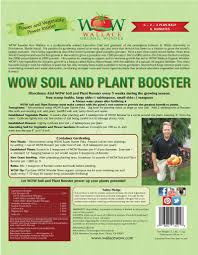 Fertilizer Requirements For Pumpkins by Organic Fertilizer Soil And Plant Booster Wallace Organic Wonder