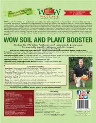 Natural Fertilizer For Pumpkins by Organic Fertilizer Soil And Plant Booster Wallace Organic Wonder