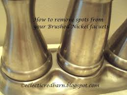 Brushed Nickel Bathroom Faucets Cleaning by How To Clean Brushed Nickel Faucets Works On Stainless Appliances