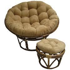 World Market Papasan Chair by Round Rattan Chair With Cushion Round Designs