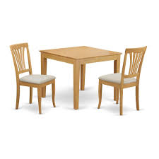 Amazon.com: East West Furniture OXAV3-OAK-C 3 Piece Dining Table For ... Inviting Ding Room Ideas Mesmerizing Ashley Fniture Dinette Sets With Victorian Style Chungcuroyalparknet Blake 3pc Set W Round Table Rotmans 3 Piece Primo Intertional 2842 6 Rectangular Leg Coffee Elegant Wooden Cream Kitchen Small Drop Leaf And Chairs In Ppare For Kitchens Inside Tables Spaces Morale Tables And Chairs Wood Kitchen Sets 33 Design Oak Space Modern Com Adorable Patio Pub Bistro 2 Black