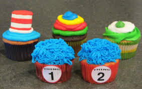Cupcakes For Dr Seusss Birthday