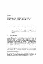 Sinking Fund Formula Pdf by Corporate Debt Valuation The Structural Approach Springer