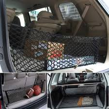 Universal Car Truck SUV Rear Cargo Net Storage Bag Luggage Organizer ... Tray Load Cover Lt Truck Cgn13 Heavy Duty Mesh Cargo Net 37m X 28m Gladiator Net Heavyduty Safeguardgladiator All Lifting Nets For Trucks And Protection Of Goods Emis France Frayresistant Trailer Various Sizes From 1535 Restraint Minecorp Go Gear 3in1 616313 Towing At Sportsmans Guide Bed Nets Specialty Custom Personal Incord Safetyweb Free Shipping On Safety Products Commercial Fleets Utility Products Uhaul Pickup 72 X 96 6 Ft 8 Mesh Secure Bulky Storage