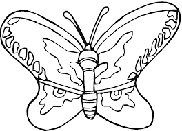 Cool Free Printable Butterfly Coloring Pages KIDS Design Gallery