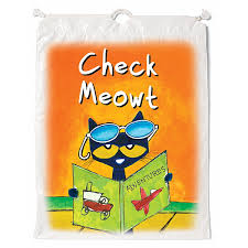 pete the cat books demco pete the cat book bags