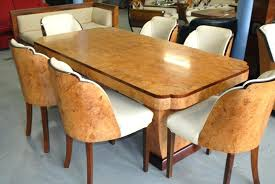 Art Dining Table And 6 Chairs Cloud 9 Deco Set For Sale Uk