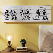 Celebrate The History Of Motion Pictures With Kirklands Adorable Mickey Minnie Canvas Art Print