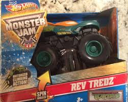 100 Ninja Turtle Monster Truck Amazoncom Hot Wheels Jam Rev Tredz Teenage Mutant