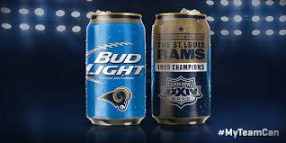 Past Super Bowl champs highlighted on new Bud Light cans