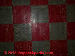 Red And Gray Vinyl Asbestos Floor Tiles Armstrong C Daniel Friedman