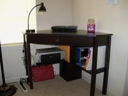 Mini Parsons Desk Walmart by Sauder Beginnings Corner Computer Desk Cinnamon Cherry Walmart Com