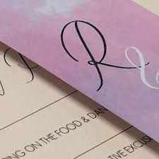 Violet Blush Wedding Stationery