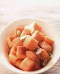 comment cuisiner les patates douces recettes recette patates douces au four chic comment cuisiner la patate