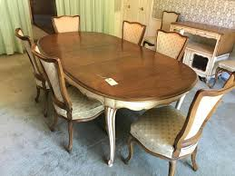 Lot 720 Of 162 John Widdicomb Dining Table And 10 Chairs