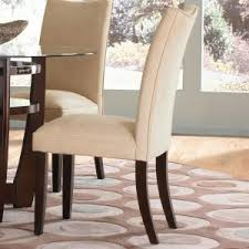 Cheap Leather Parsons Chairs by Dining Room Cozy Parson Chairs With Backhead For Dining Room