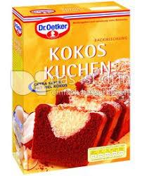 dr oetker kokos kuchen 429 0 kalorien kcal und