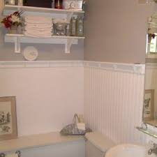 Small Bathroom Wainscoting Ideas by Inspiring Wainscoting Ideas For Bathrooms Photo Inspiration Amys