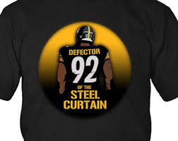 Original Iron Curtain Steelers by Steel Curtain Etsy