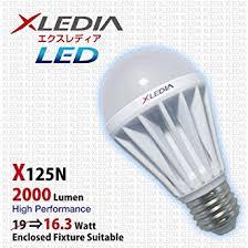 xledia led light bulb x125n a19 125w equivalent 2000 lumen cool