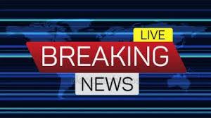 Breaking News Live Banner On Worldmap Stock Video