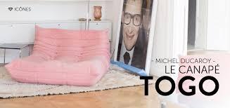 togo canapé le canapé togo par michel ducaroy meubles vintage design
