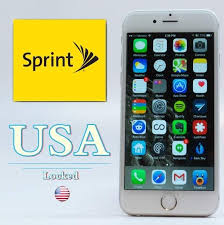 Sprint Unlock iPhone 7 7Plus 6 6S 6Plus 5s 5c 5 Sim Unlock Phone