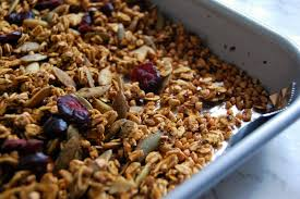 Pumpkin Flaxseed Granola Nutrition by Pumpkin Spice Buckwheat Granola Nutrition To Fit